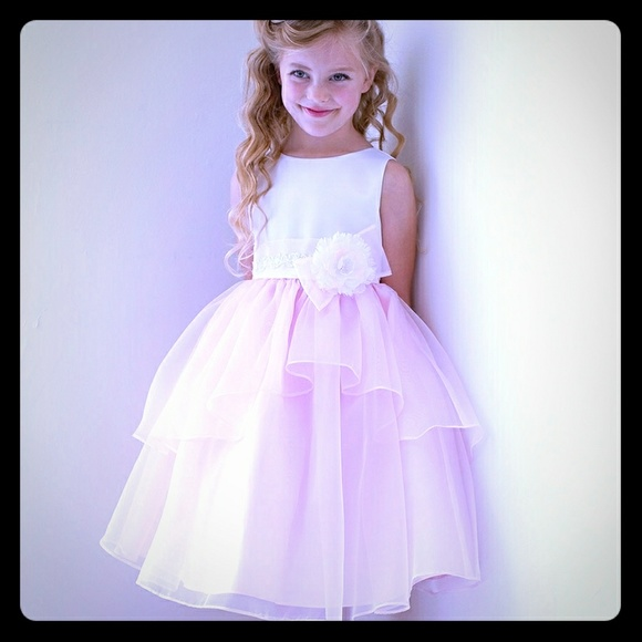 Pink princess kid collection dresses flower girl dress little girl flower girl dress little girl mightylinksfo